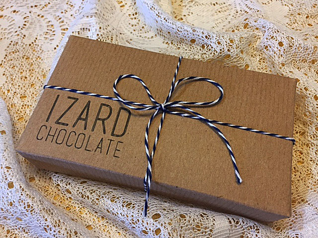 Box of Izard Chocolates