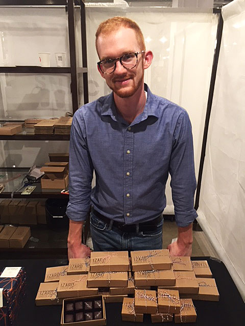 Nathaniel Izard, Owner and Caramel Genius