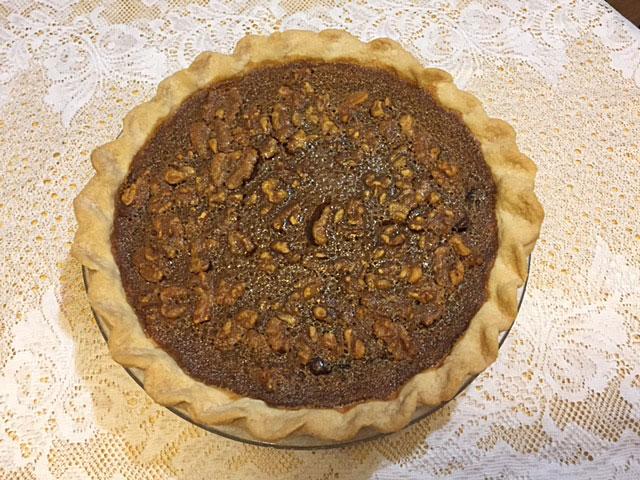 Delicious pie.